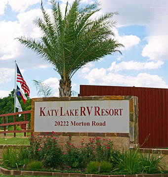 Welcome to Katy Lake RV Resort