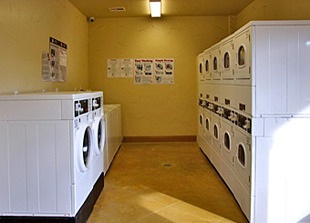 Laundry Room at Katy Lake RV Resort
